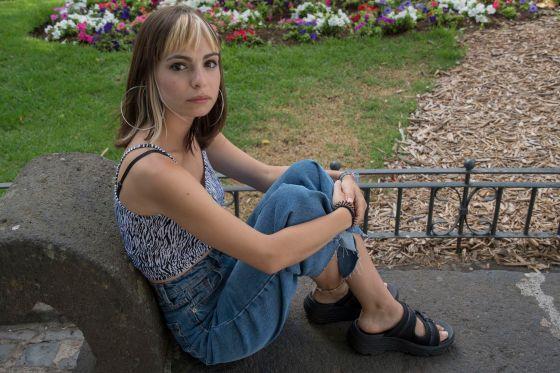 En la imagen, la joven escritora tinerfeña Andrea Abreu.